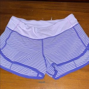 Lululemon size 4 speed short